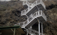 Anacapa Stairs Project After Completion